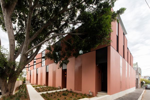 Cowper Street Housing by Andrew Burns Architecture.
