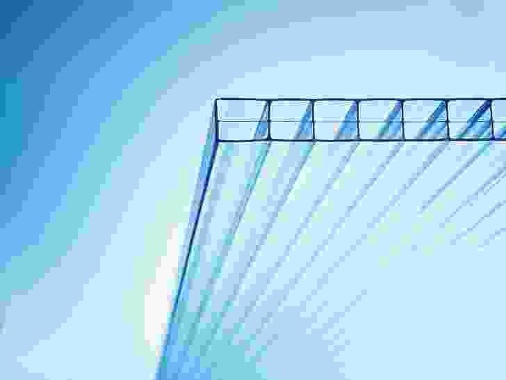 Makrolon Multiwall glazing.