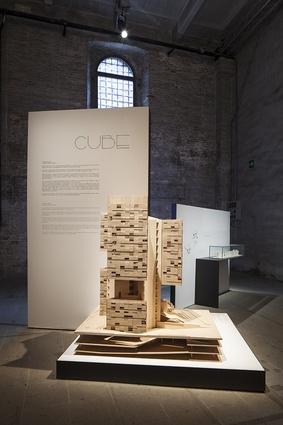 Cube tower by Estudio Carme Pinós (Spain).