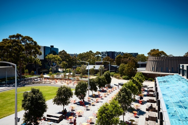 Monash University Northern Plaza by TCL and MGS Architects.