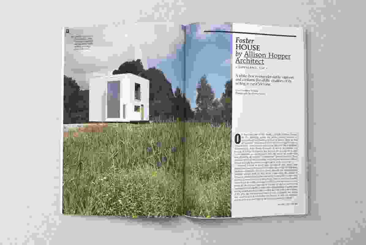 Foster House by Allison Hopper Architect.