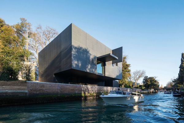 The Australian Pavilion in Venice, designed by Denton Corker Marshall and completed in 2015.
