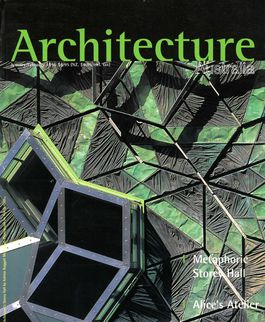 Architecture Australia, January 1996