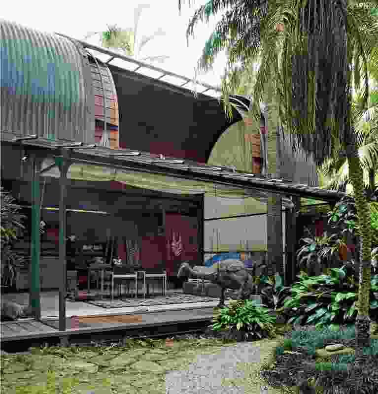 Palm Garden House by Richard Leplastrier.
