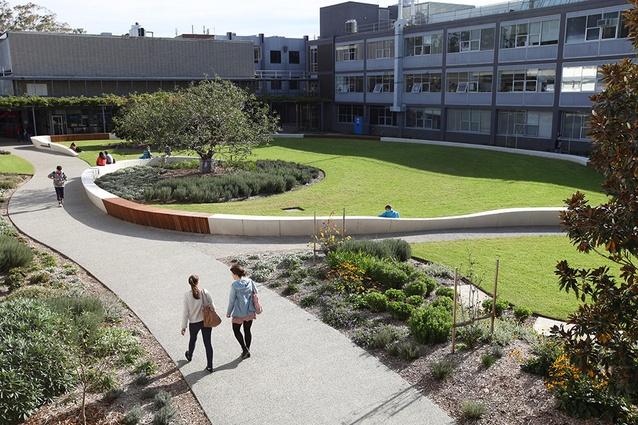 Kenneth Hunt Garden, Monash University Clayton Campus.