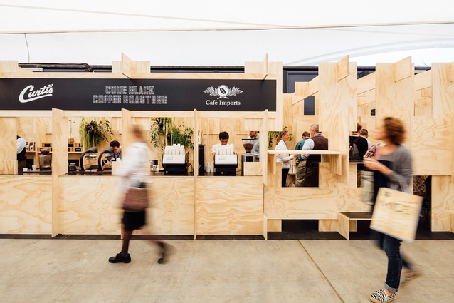 Code Black Melbourne International Coffee Expo By ZWEI Interiors Architecture Shortlisted For Best Temporary