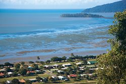 Yarrabah, just south of Cairns, has a population of around 3,000 people.