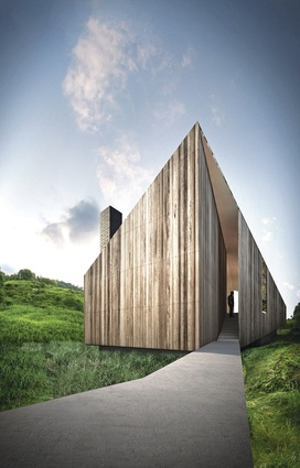 Shortlisted entry by John Wardle Architects.