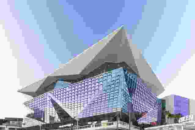 The International Convention Centre Sydney by Hassell and Populous.