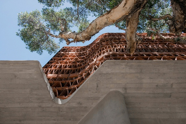The Beehive by Raffaello Rosselli Architect with Luigi Rosselli Architects.