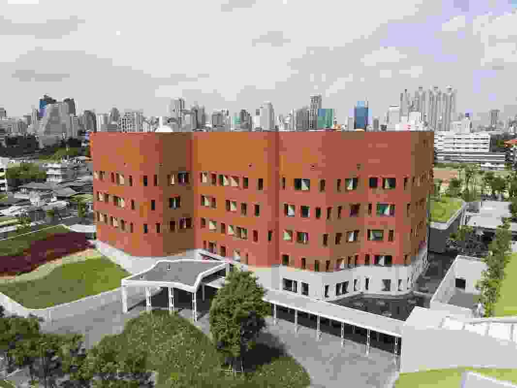 Australian Embassy Complex, Bangkok, by BVN.
