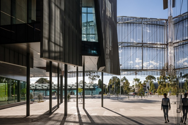 Monash Transport Interchange by John Wardle Architects.