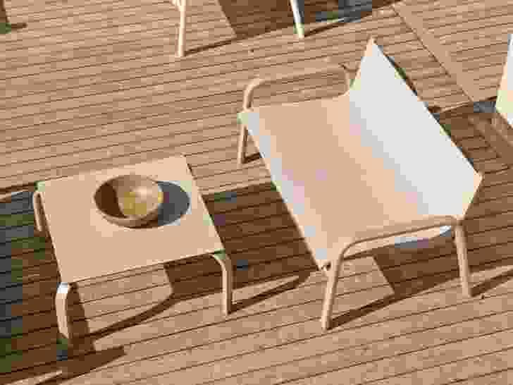 Stack outdoor furniture from Gandia Blasco.