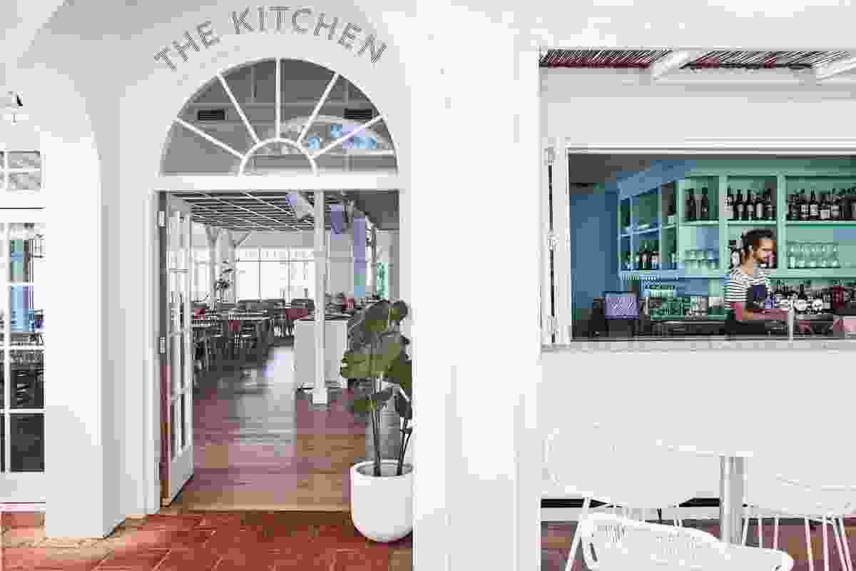 The Kitchen and The Patio at SBCC by Luchetti Krelle.