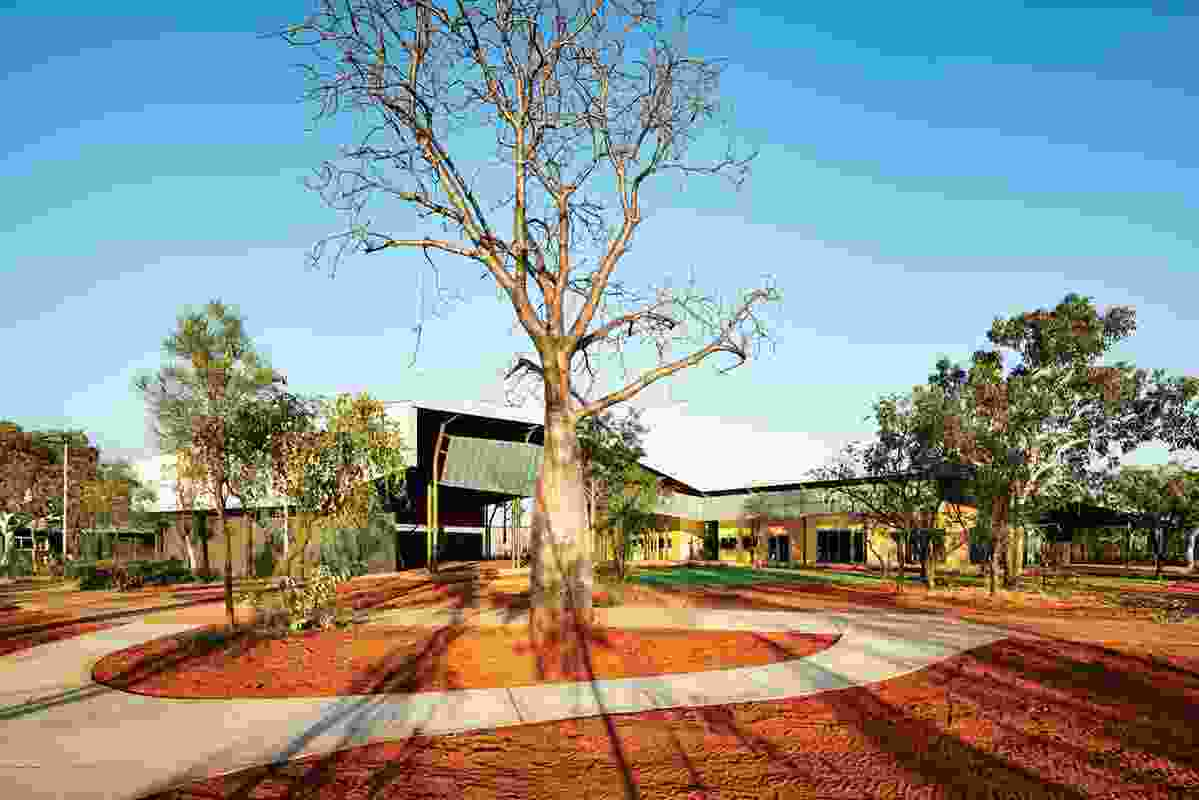 Domestic-scale buildings are attuned to the landscape.