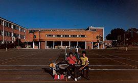 Prahran High School Library, 1978.