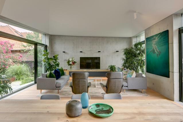 Bouwman House by Sam Crawford Architects.