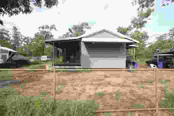 A house at Little Paradise on Groote Eylandt, East Arnhem Land.