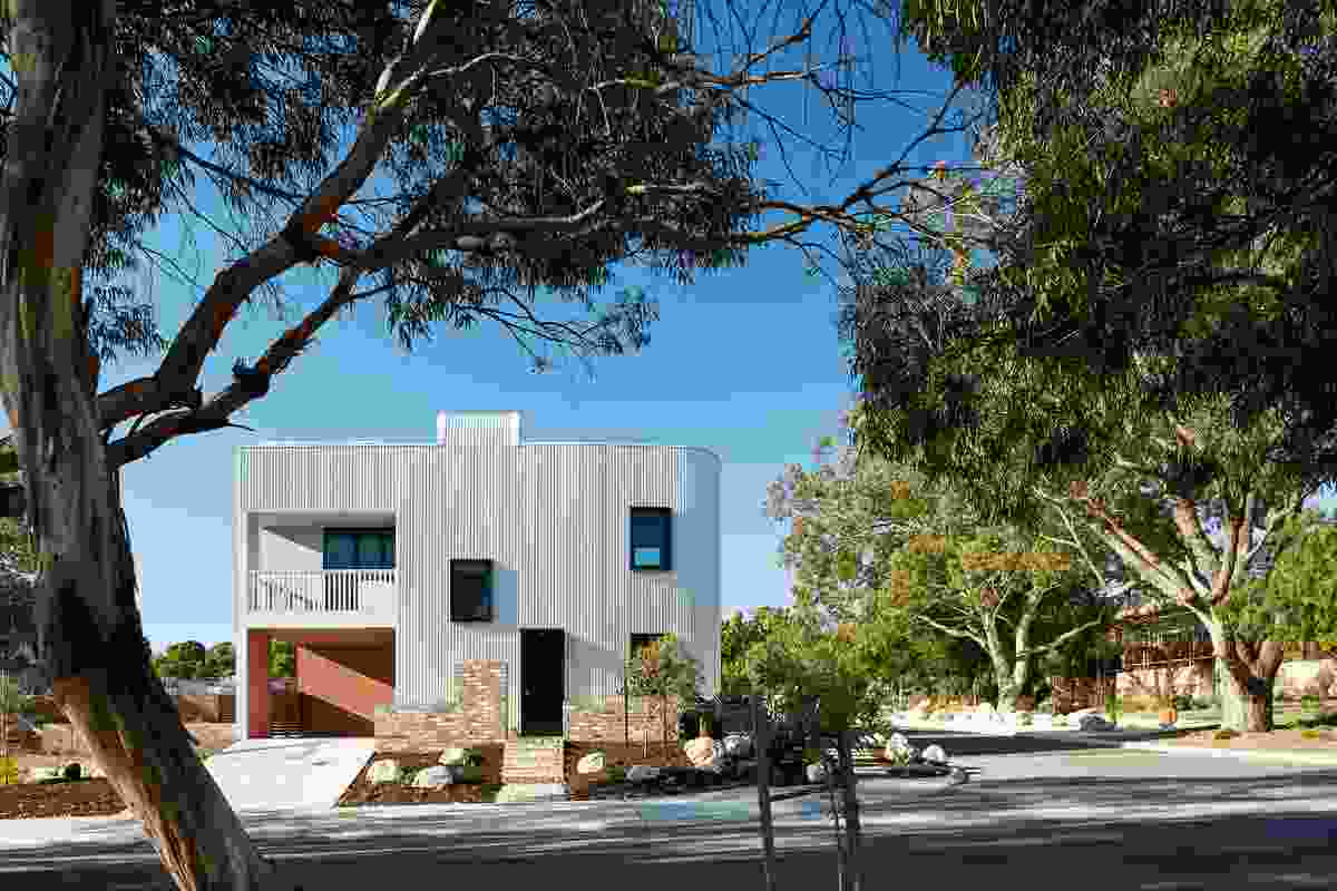 The Gen Y Demonstration Housing Project designed by David Barr Architect.