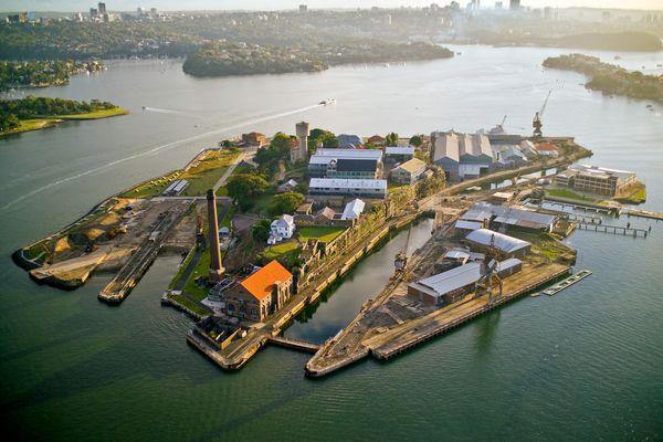 Cockatoo Island.