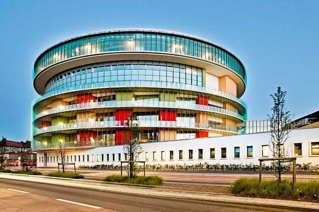 Emergency and Infection Disease Unit, Skåne Hospital, by C.F. Møller.