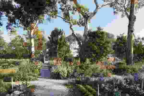 The proposed Healing Garden at Heide Museum of Modern Art by Openwork.