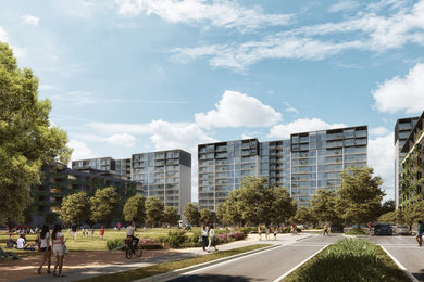 Epsom Road Apartments by Tzannes in association with Fender Katsalidis.