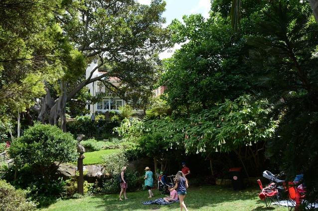 Wendy Whiteley's secret garden in Sydney's Lavender Bay, now heritage listed.