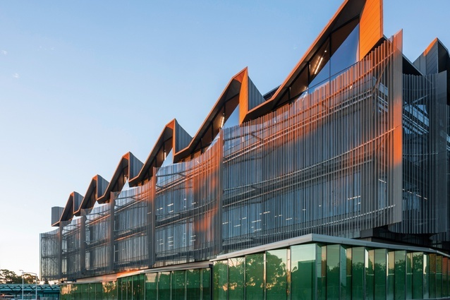 The Monash University Learning and Teaching Building by John Wardle Architects won in the Architectural Design – Educational Buildings category.