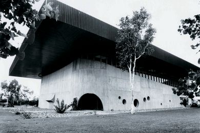 Gumtree Brutalism: the Eddie Koiki Mabo Library (1968), designed by Queensland architect James Birrell, on the James Cook University campus.