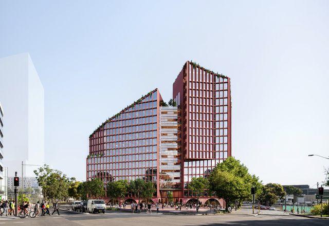 贝茨·斯玛特设计的绿色广场办公大楼。