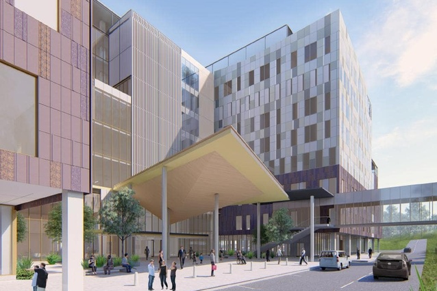 Stage two of the Campbelltown Hospital redevelopment project by Billard Leece Partnership.