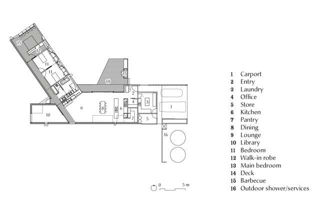 Lagoon House plan.