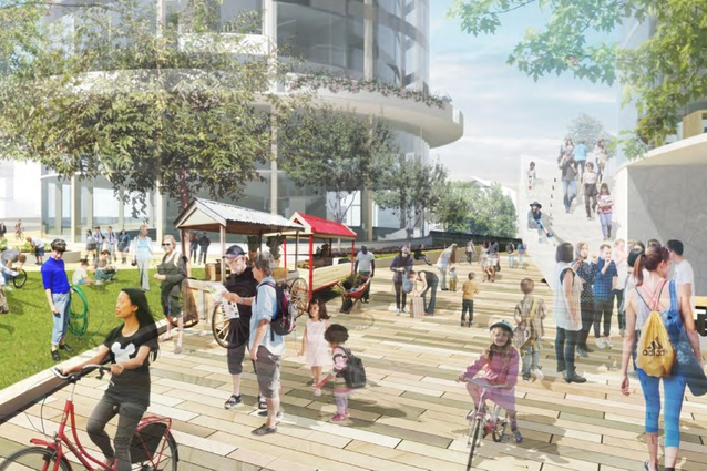 The Orchard, Ryde Square – Team2 in collaboration with Arcadia Landscape Architecture (Australia).