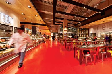 2012 Retail Design Award: Loblaws Maple Leaf Gardens by Landini Associates.