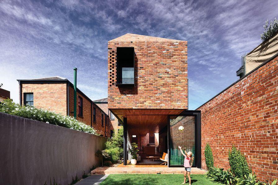 A grand reveal: North Melbourne Terrace | ArchitectureAU