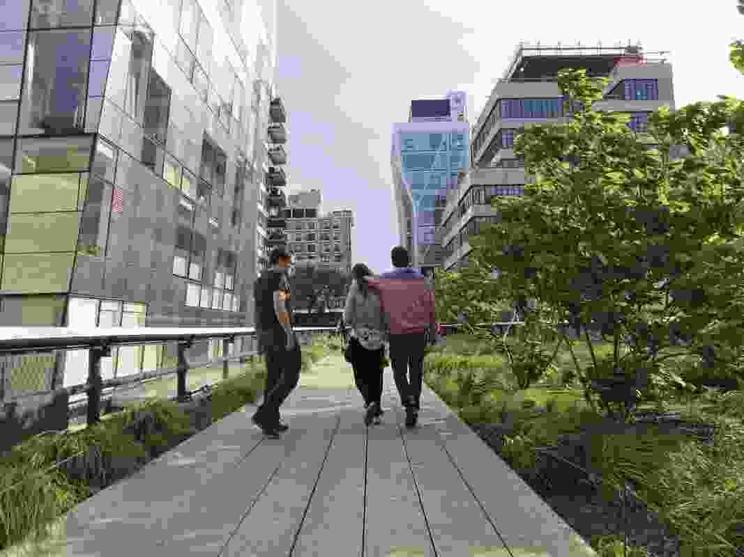The High Line is a catalyst for urban renewal around it.