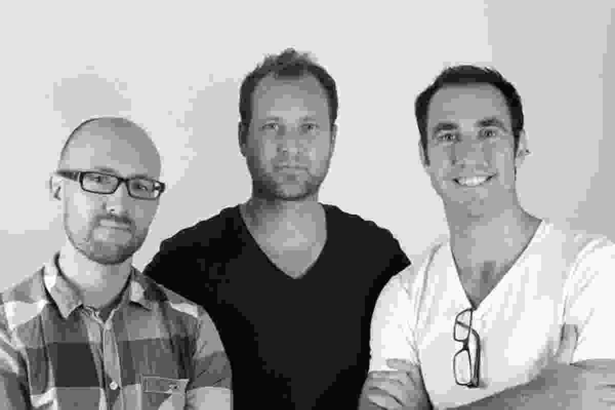 Supermanoeuvre: Dave Pigram, Iain Maxwell and Chris Duffield.