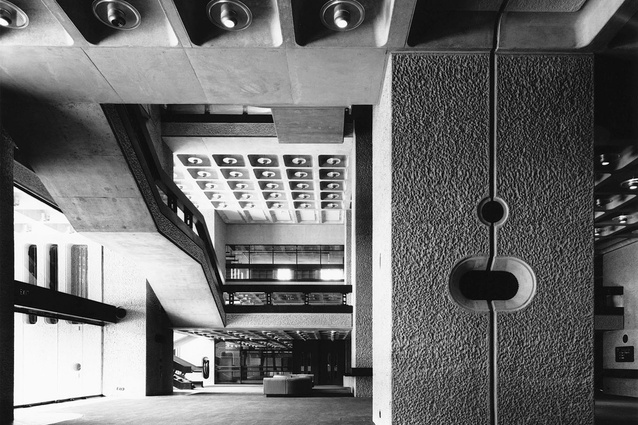 Chamberlin, Powell and Bon's Barbican complex in London.