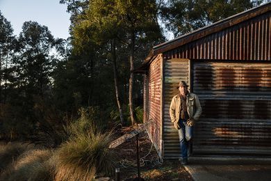 Landscape contractor and designer Michael Bates.