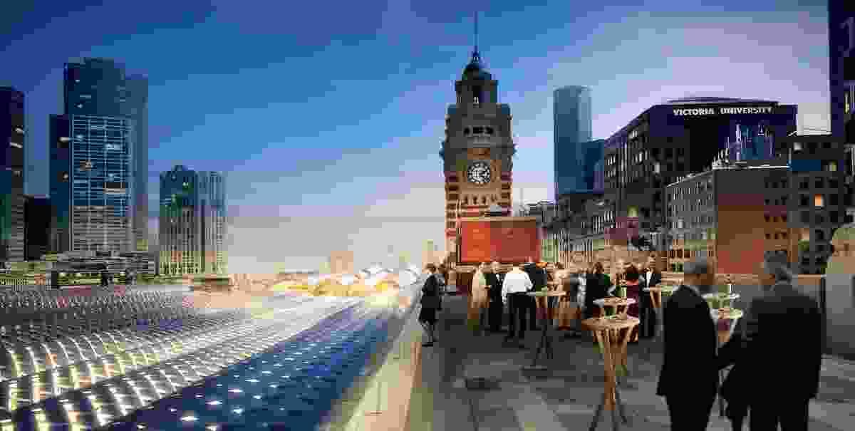 Hassell + Herzog & de Meuron: City view.