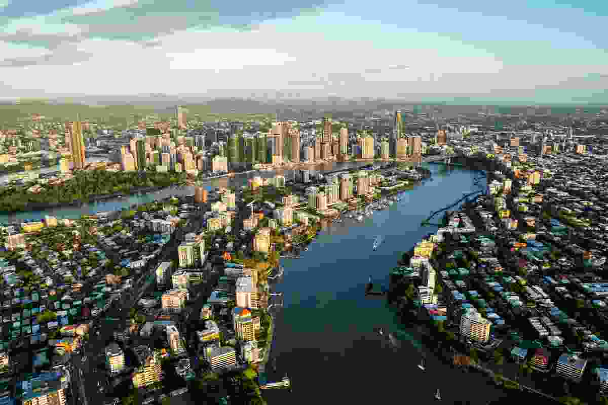 Kangaroo Point Peninsula Urban Renewal Strategy by Urban Renewal Brisbane, Lat27 and BVN.