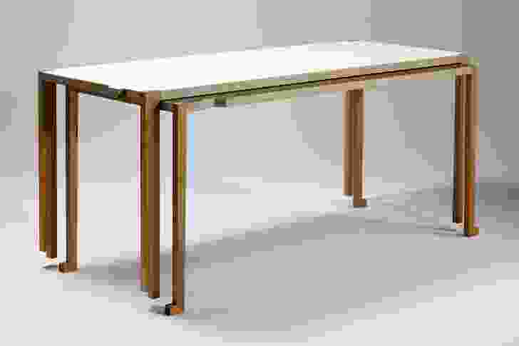 The Stacking table is two tables in one, allowing for room flexibility.