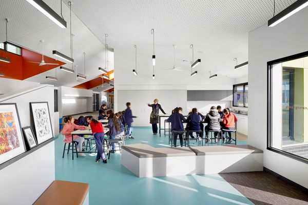 Victorian Growth Areas Schools Project by Architectus and K2LD.