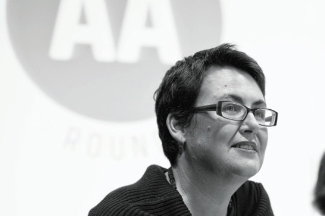 Justine Clark at AA Roundtable 03 in 2010.