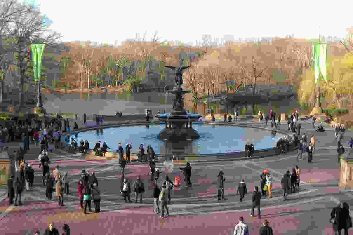 Bethesda Fountain, Central Park.