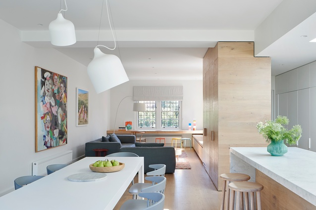 East Malvern House by Penny Kinsella Architects and Made By Cohen.