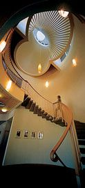 Catholic Theological College: main stair, 1999.