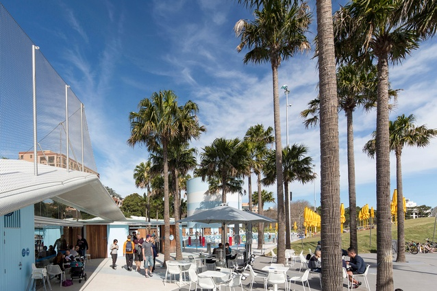 Prince Alfred Park and Pool by Sue Barnsley Design, Neeson Murcutt and City of Sydney.