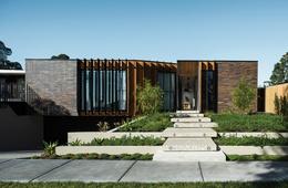 Oasis of greenery: Courtyard House